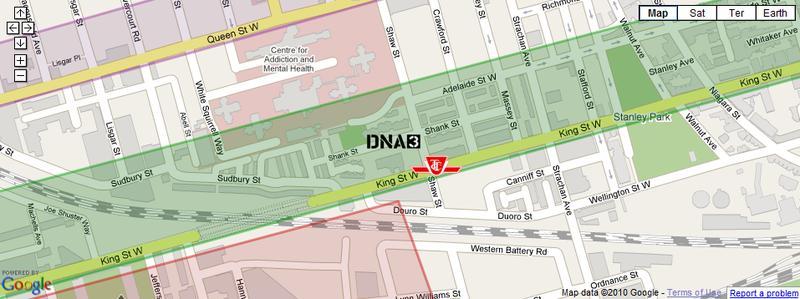 DNA3 at 1030 King Street West, Toronto, Ontario. Image 4