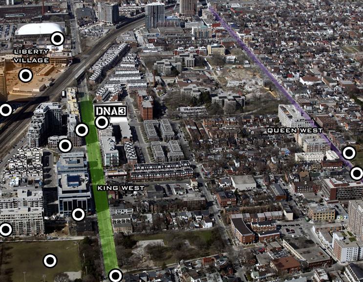 DNA3 at 1030 King Street West, Toronto, Ontario. Image 8