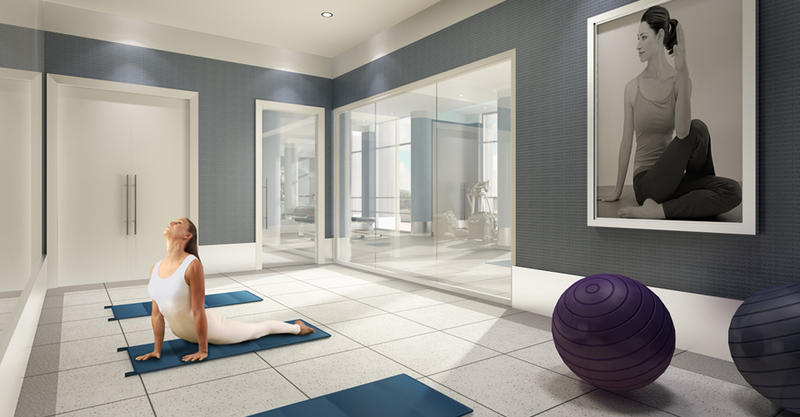Bluwater Condominiums at 3500 Lakeshore Road West, Oakville, Ontario. Image 2