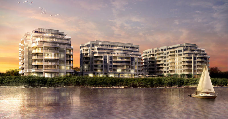 Bluwater Condominiums at 3500 Lakeshore Road West, Oakville, Ontario. Image 6