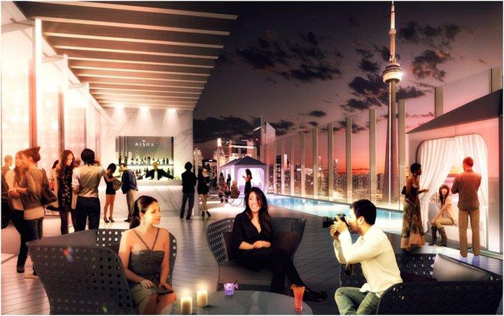 Bisha Hotel & Residences at 56 Blue Jays Way, Toronto, Ontario. Image 2