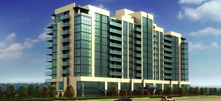 The Rowe Condominium at 1600 Charles Street, Whitby, Ontario. Image 3