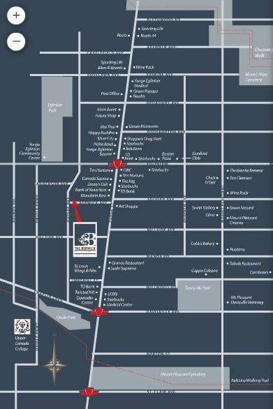 The Berwick at 60 Berwick Avenue, Toronto, Ontario. Image 2