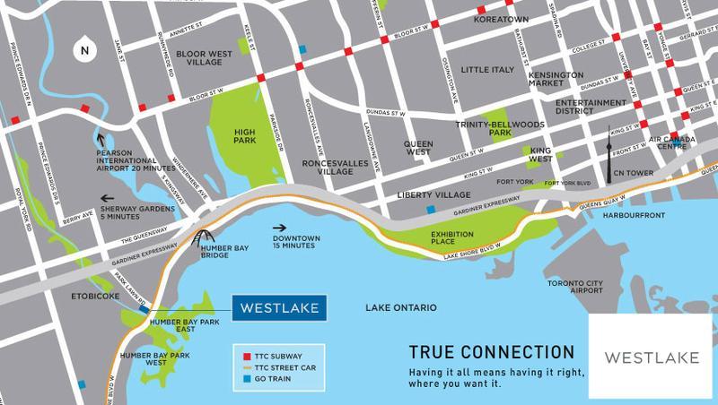 Westlake at 2200 Lake Shore Blvd W, Toronto, Ontario. Image 2
