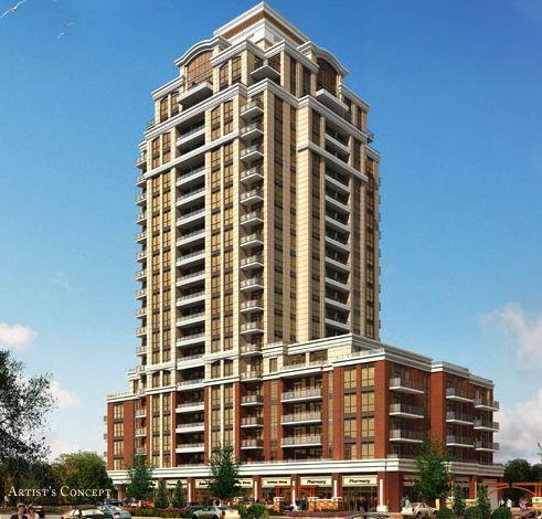 The Upper Village Condos at 9500 Markham Road, Markham, Ontario. Image 1