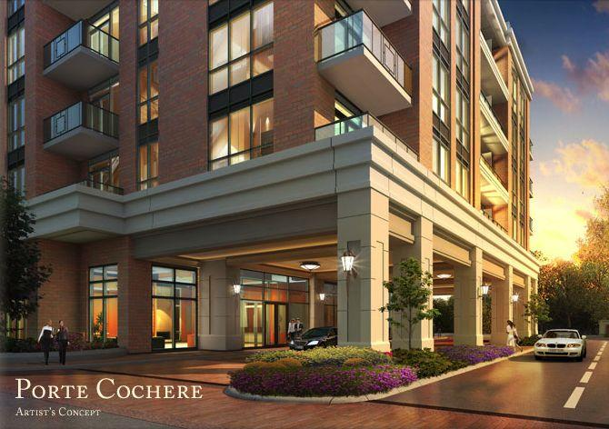 The Upper Village Condos at 9500 Markham Road, Markham, Ontario. Image 3