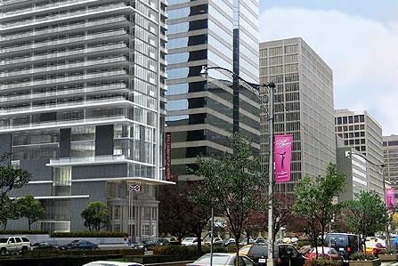 Residences at RCMI at 426 University Avenue, Toronto, Ontario. Image 1