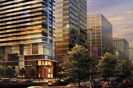 Residences at RCMI at 426 University Avenue, Toronto, Ontario. Image 4