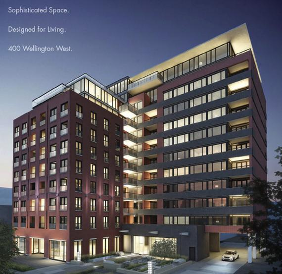 400 Wellington West at 400 Wellington West, Toronto, Ontario. Image 2