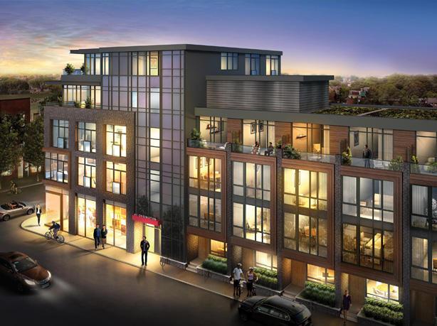 Motif Lofts and Towns at 41 Ossington Avenue, Toronto, Ontario. Image 2