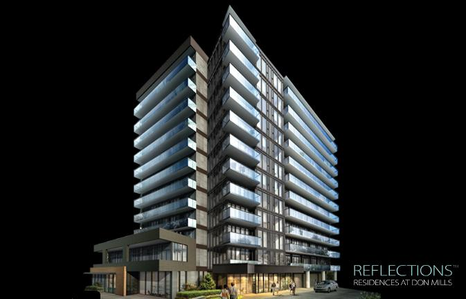REFLECTIONS Residences at Don Mills at Lawrence Avenue East and Don Mills Road, Toronto, Ontario. Image 4