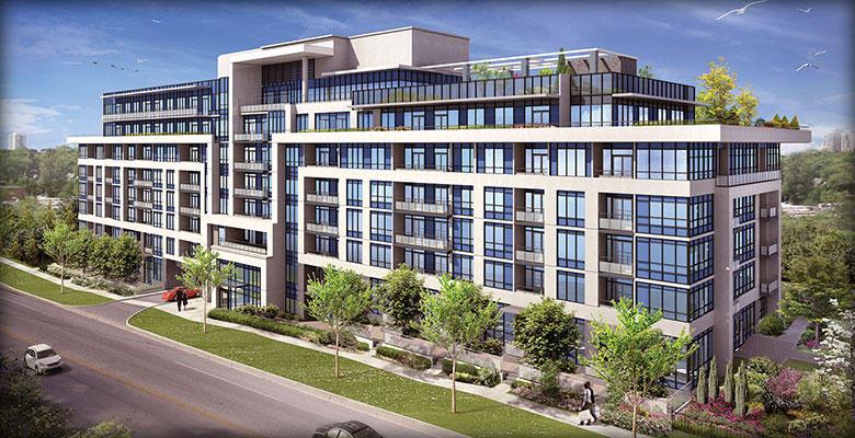 Jade Condominiums at 399 Spring Garden Avenue, Toronto, Ontario. Image 1
