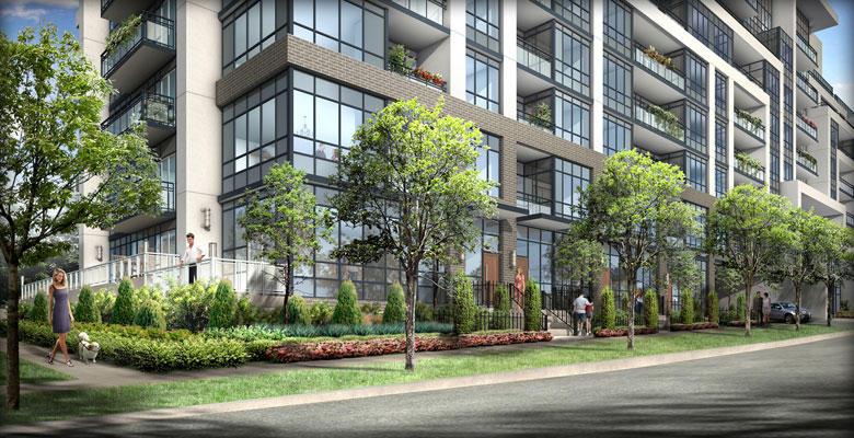 Jade Condominiums at 399 Spring Garden Avenue, Toronto, Ontario. Image 2