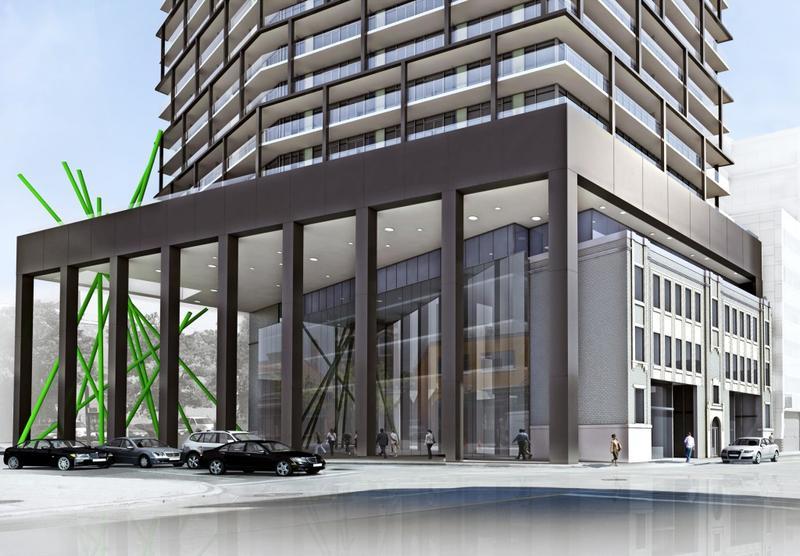Tableau Condominiums at 117 Peter Street, Toronto, Ontario. Image 1