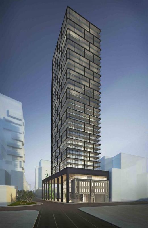 Tableau Condominiums at 117 Peter Street, Toronto, Ontario. Image 3
