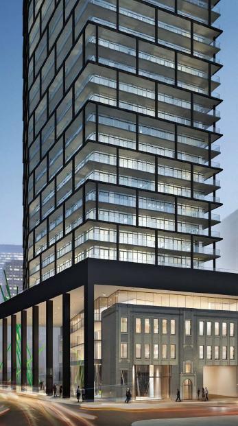 Tableau Condominiums at 117 Peter Street, Toronto, Ontario. Image 4