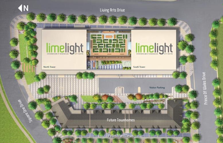 Limelight at Living Arts Drive and Prince of Wales Drive, Mississauga, Ontario. Image 2