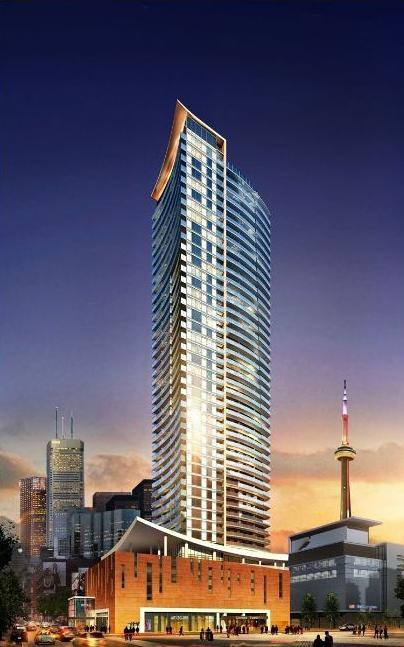 Cinema Tower at 21 Widmer Street, Toronto, Ontario. Image 1
