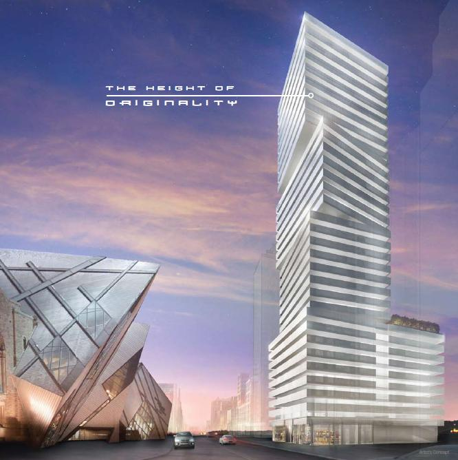 Exhibit Residences at 200 Bloor Street West, Toronto, Ontario. Image 2