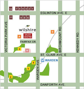 Wilshire on the Green at 60 Fairfax Crescent, Toronto, Ontario. Image 1