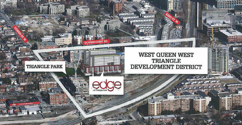 Edge on Triangle Park at Queen St W & Abell St, Toronto, Ontario. Image 2