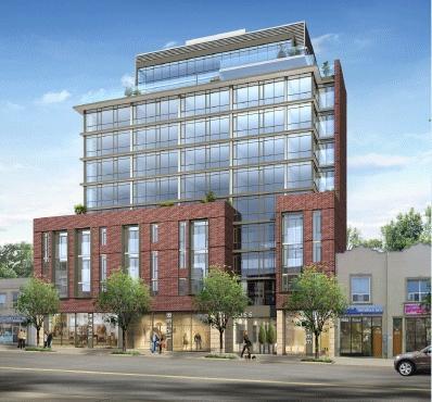 Carmelina Condominiums at 2055 Danforth Ave, Toronto, Ontario. Image 1