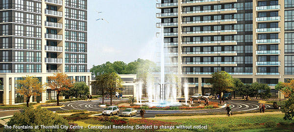 The Fountains at 7890 Bathurst Street, Vaughan, Ontario. Image 3