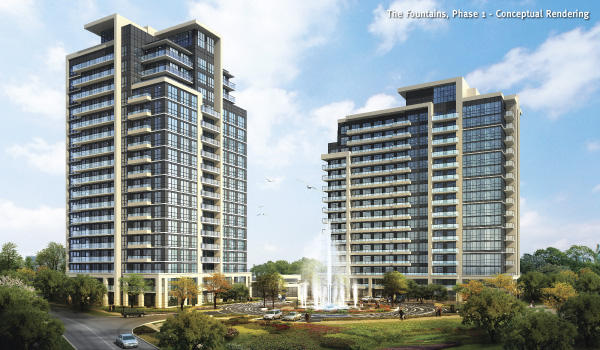 The Fountains at 7890 Bathurst Street, Vaughan, Ontario. Image 4