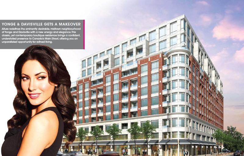 Allure Condominiums at 2008 Yonge Street, Toronto, Ontario. Image 2