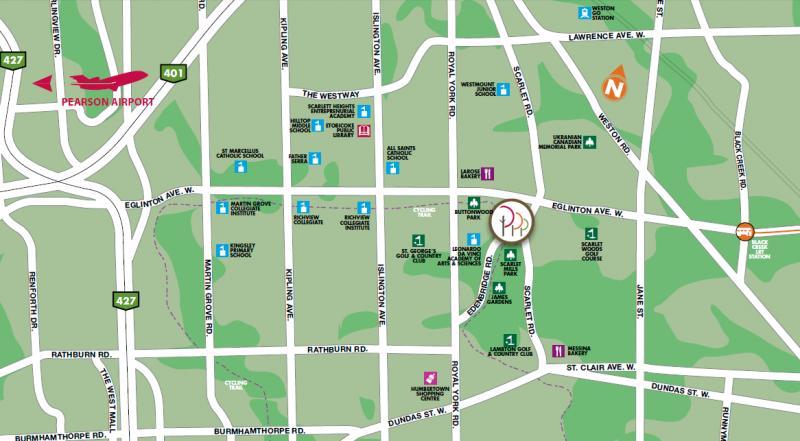 Perspective Condos at Eglinton Ave W & Scarlett Rd, Toronto, Ontario. Image 2