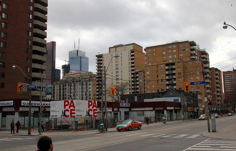 Pace Condos at 155 Dundas Street East, Toronto, Ontario. Image 1