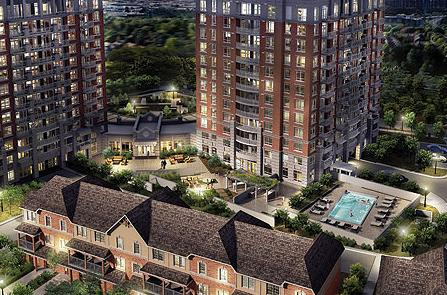 The Courtyard Residences at 2379 Central Park Drive, Oakville, Ontario. Image 2