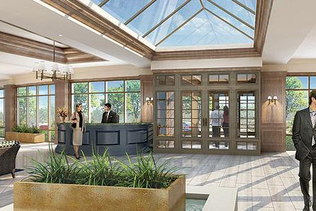 The Courtyard Residences at 2379 Central Park Drive, Oakville, Ontario. Image 3