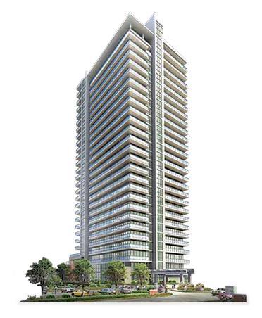 Park Place Condominiums at 100 James Street, Brampton, Ontario. Image 1