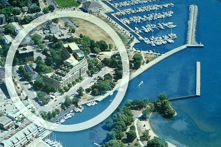 The Shores at Bronte Rd & Ontario St, Oakville, Ontario. Image 2