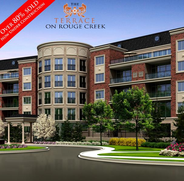 The Terrace On Rouge Creek at Main St. and Baker Hill Blvd, Stouffville Whitchurch, Ontario. Image 1