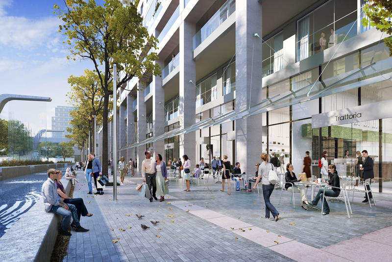 Monde Condos at 5 Lower Sherbourne St, Toronto, Ontario. Image 4