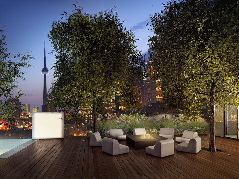 Monde Condos at 5 Lower Sherbourne St, Toronto, Ontario. Image 7