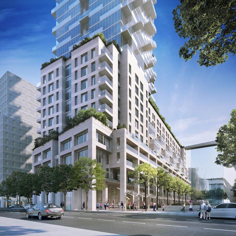 Monde Condos at 5 Lower Sherbourne St, Toronto, Ontario. Image 8