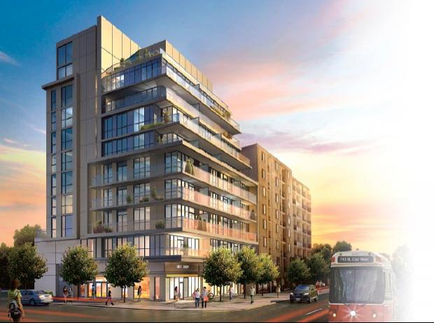 The Rushton Residences at 743 St Clair Ave West, Toronto, Ontario. Image 2