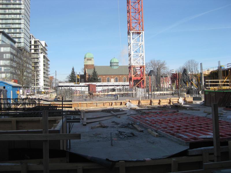 Paintbox Condominiums at 591 Dundas St East, Toronto, Ontario. Image 1