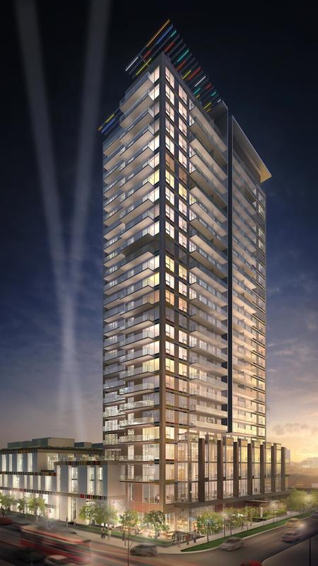 Paintbox Condominiums at 591 Dundas St East, Toronto, Ontario. Image 2