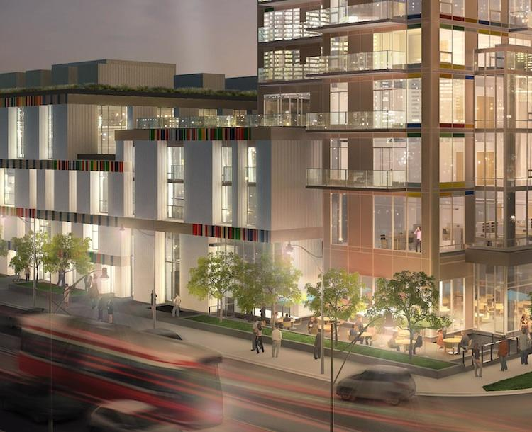Paintbox Condominiums at 591 Dundas St East, Toronto, Ontario. Image 7