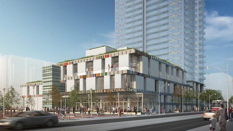 Paintbox Condominiums at 591 Dundas St East, Toronto, Ontario. Image 10