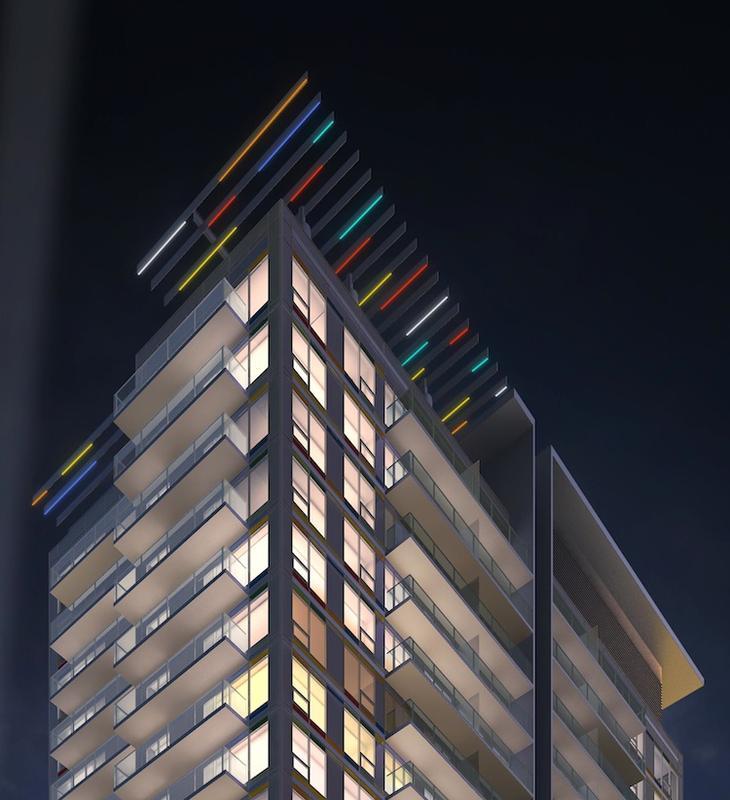 Paintbox Condominiums at 591 Dundas St East, Toronto, Ontario. Image 13
