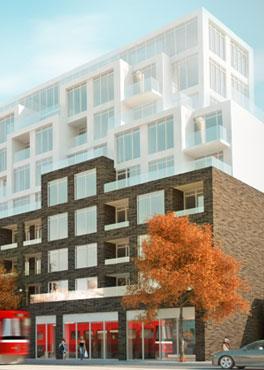 B streets Condos at 783 Bathurst St, Toronto, Ontario. Image 2