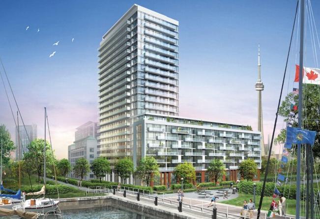 Quay West at Tip Top at 90 Stadium Road, Toronto, Ontario. Image 7