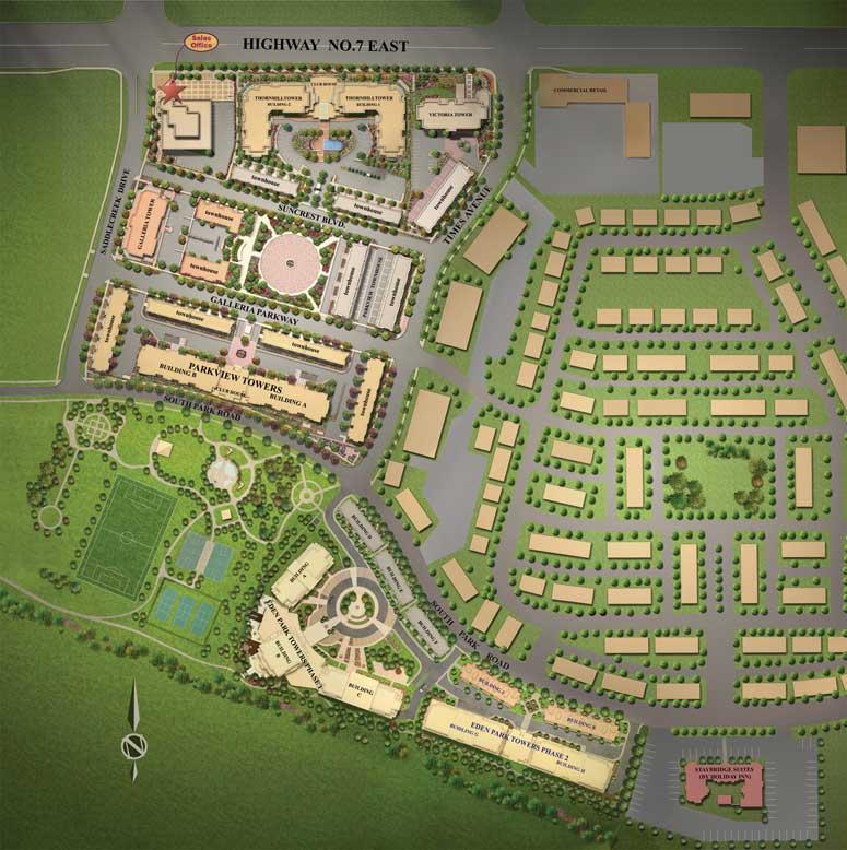 Eden Park - Phase II at S Park Rd & Times Ave, Markham, Ontario. Image 1