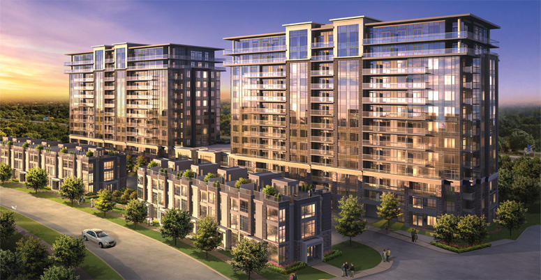 Eden Park - Phase II at S Park Rd & Times Ave, Markham, Ontario. Image 2