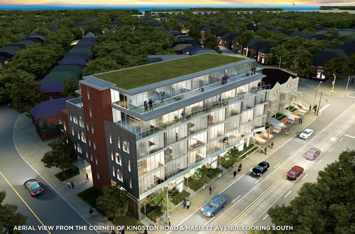 Beach Club Lofts at 303 Kingston Road, Toronto, Ontario. Image 1